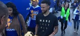 Check out the best photos from the Warriors' championship parade