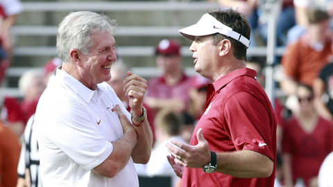 Winning record in Red River Rivalry
