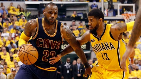 Paul George would be a massive upgrade for the Cavaliers