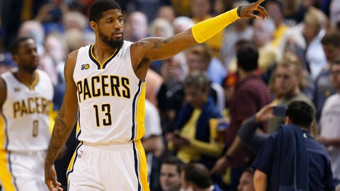 Paul George is not a clutch player, and seems to be afraid of LeBron