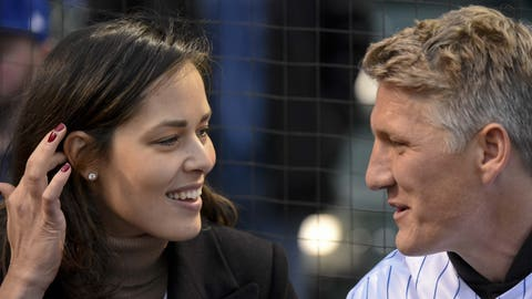 Ana Ivanovic and Bastian Schweinsteiger (married)