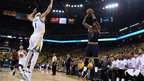 Cleveland has to shut down Klay Thompson, and J.R. Smith needs to contribute