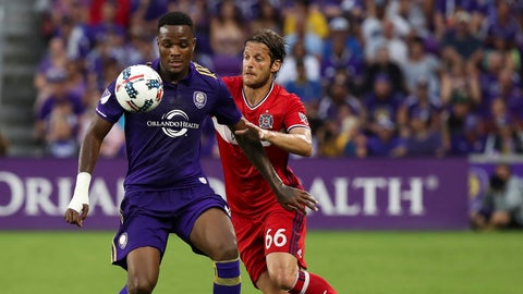 Orlando City didn't fall apart after the red and made it tougher for Chicago