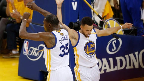 The Warriors' long-range shooting would give them an edge in a modern game