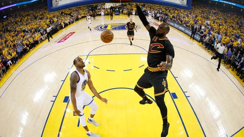 The Cavs will take Game 3