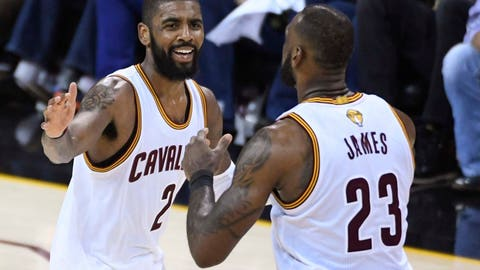 Without LeBron on the court, the Cavaliers got destroyed