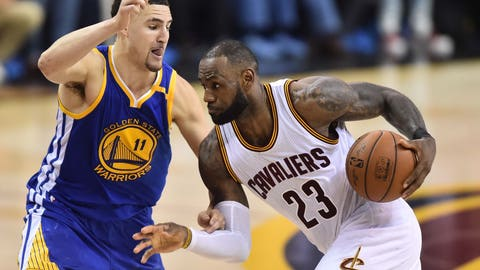 The Warriors' weapons simply applied too much pressure