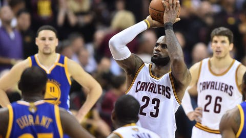 LeBron thinks averaging a triple-double earned him a pass