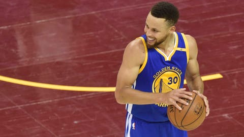 Stephen Curry won't continue to disappear