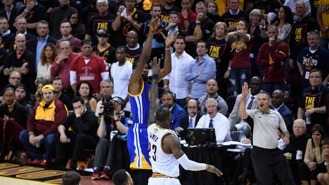 The Warriors deserve more credit than the Cavaliers do blame