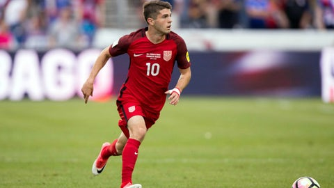 He's turned the attack over to Christian Pulisic