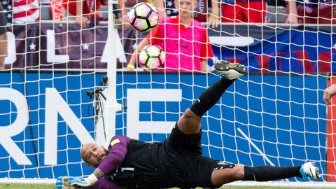 Flawless play from Tim Howard