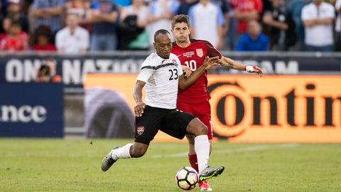 6. Trinidad and Tobago - 3 points