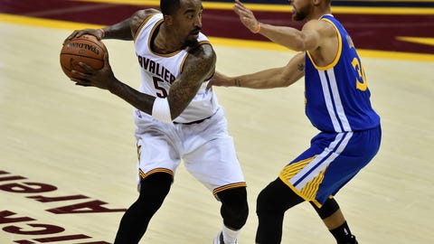 J.R. Smith is now a factor