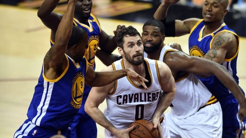 Kevin Love came up big