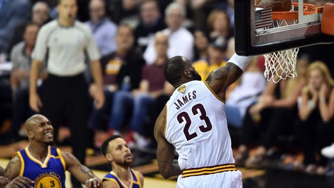 There's no chance LeBron James was blindsided by this