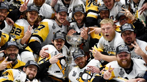 Pittsburgh Penguins win back-to-back Stanley Cups