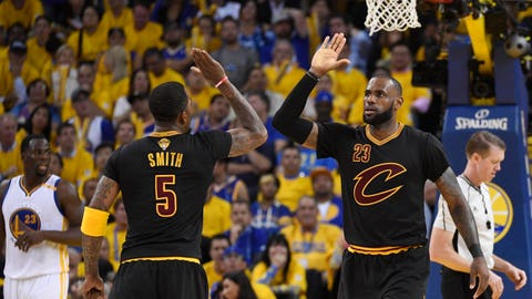 You can't take LeBron's Finals record at face value