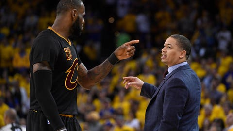 He hasn't had an elite coach in years, and that's not changing in Cleveland