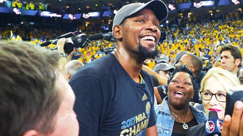 Without Kevin Durant, the Cavs would have swept this series