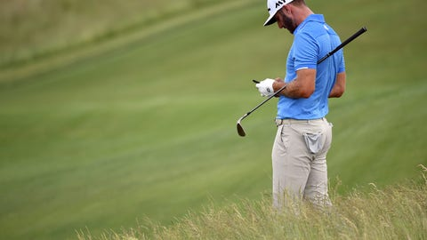 Will Dustin Johnson be able to remain focused?