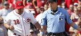Reds fall to Dodgers, 10-2