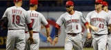 Schebler, Gennett help Reds top Rays 7-3, end 9-game skid