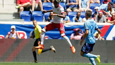 The Red Bulls are still struggling to score