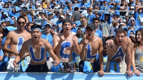 UCLA Bruins: 60/1