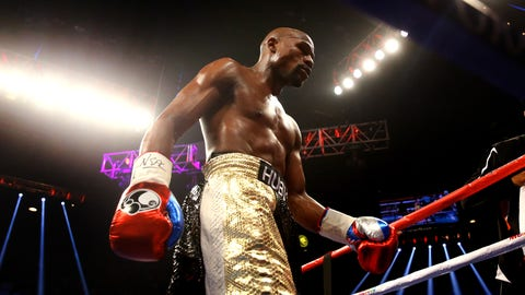Mayweather by unanimous decision