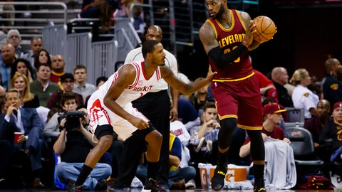 LeBron James: Football players only impact one side of the game