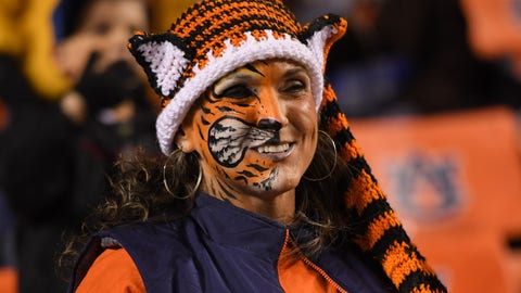 Auburn Tigers: 25/1
