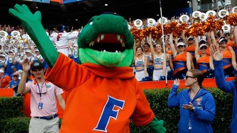 Florida Gators: 50/1
