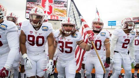 Stanford Cardinal: 80/1