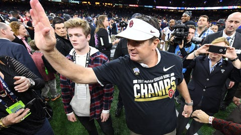 Bob Stoops had already started to groom Lincoln Riley