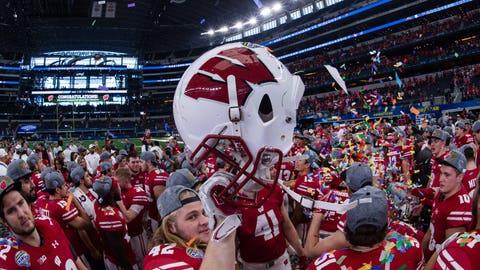 Wisconsin Badgers: 40/1