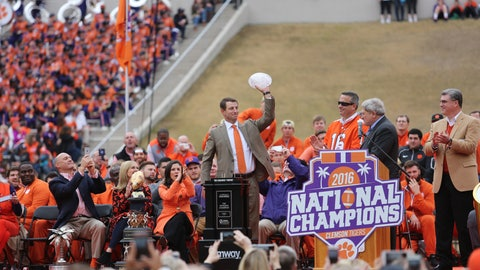 Betting Odds on 2017 College Football National Championship