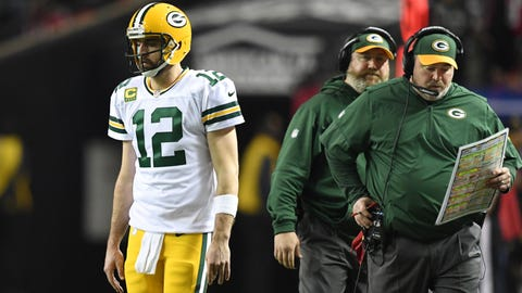 Rodgers had to go public