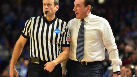 Basketball coaches never getting tossed