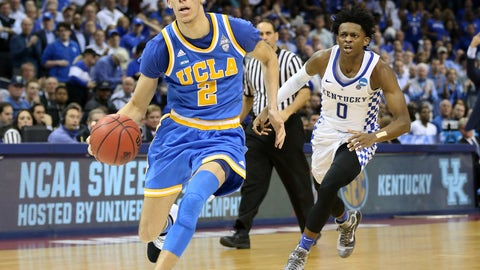 """Colin Cowherd: """"OK, I want you to put on your basketball cap. What's Lonzo do well? If you were a scout and I haven't seen him play, what's he do well?"""""""