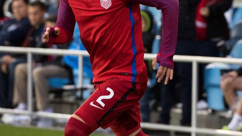 The Americans finally have some fullbacks