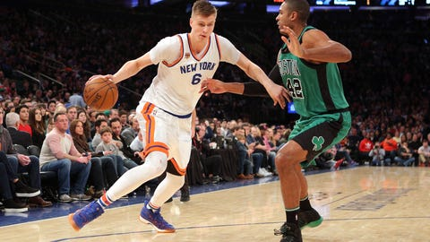 If the Knicks can revamp their roster and acquire great picks, they'd be silly not to trade Porzingis