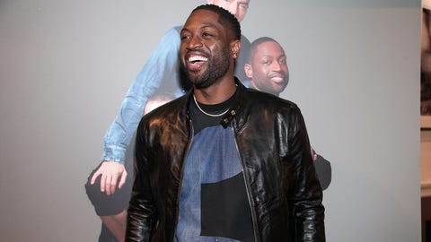 NEW YORK, NY - APRIL 03:  Dwyane Wade attends the Exclusive Launch of the Dsquared2 x Dwyane Wade Capsule Collection at Saks Fifth Avenue on April 3, 2017 in New York City.  (Photo by Amber De Vos/Patrick McMullan via Getty Images)
