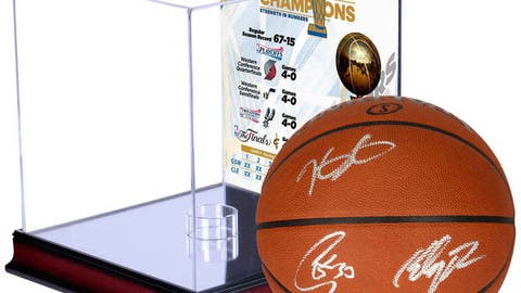 Golden State Warriors autographed basketball