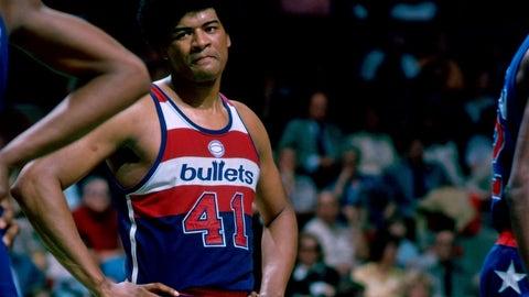 1978 Washington Bullets (44-38 regular season, 14-7 playoffs)