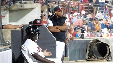 Corey Ray, Brewers minor-league outfielder (via Evan Moesta)