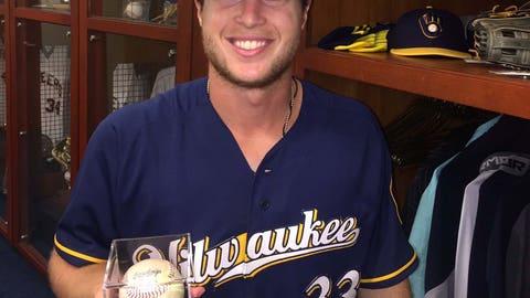 Brett Phillips, Brewers outfielder