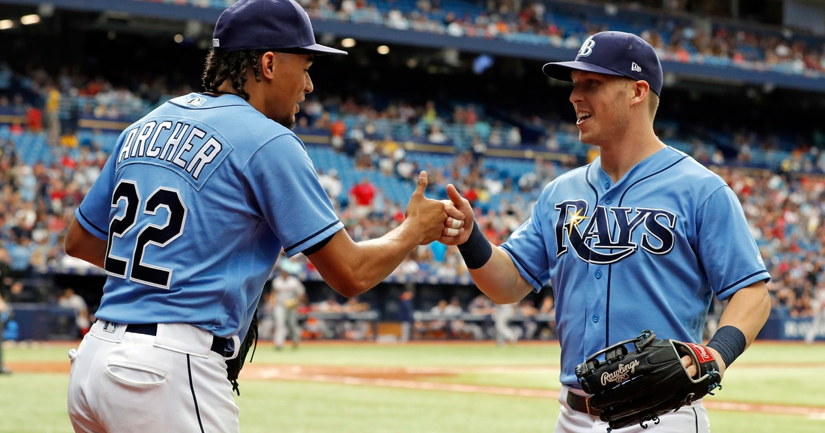 Tampa Bay Rays 5 Boston Red Sox 3