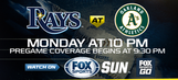 Preview: Jake Odorizzi starts as Rays pay visit to A's