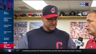 Terry Francona says Tribe needs to fight through rough patch together, speaks on trade deadline